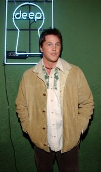 Lochlyn Munro at the American Music Award After party.