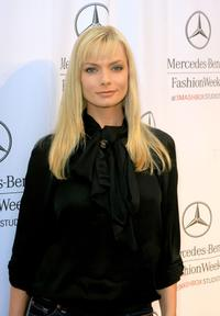 Jaime Pressly at the Mercedes Benz Fashion Week.