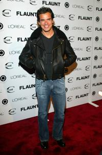 Antonio Sabato, Jr. at the Flaunt Magazine's 6-year Anniversary party.