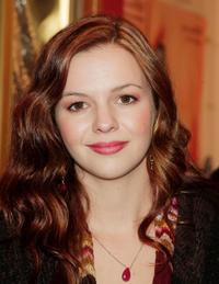 Amber Tamblyn at the premiere of