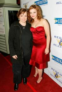 Hilary Brougher and Amber Tamblyn at the screening of