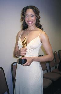 Gina Torres at the 2001 ALMA (American Latino Media Arts) awards.
