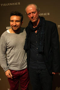 Eddie Marsan and Ned Dennehy at the London premiere of