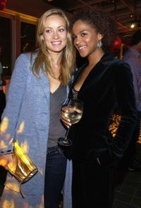 Olivia Wilde and Megalyn Echikunwoke at the Fox Fall Season Launch Event.