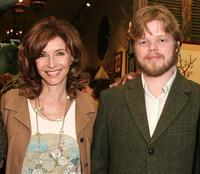 Mary Steenburgen and Elden Henson at the screening of