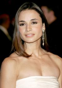 Mia Maestro at the 2007 Vanity Fair Oscar Party.