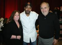 Jesse L. Martin and Guests at the Distinctive Assets gift lounge during the HBO Comedy Festival.