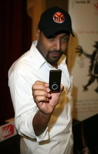Jesse L. Martin at the Distinctive Assets gift lounge during the HBO Comedy Festival.
