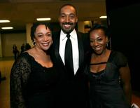 S. Epatha Merkerson, Jesse L. Martin and Marianne Jean-Baptiste at the 38th annual NAACP Image Awards.