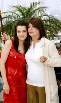 Roxane Mesquida and Catherine Breillat at the promotion of