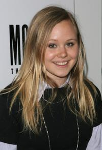 Alison Pill at the after party of the play opening of