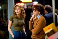 Alison Pill as Anne Kronenberg and Emile Hirsch as Cleve Jones in