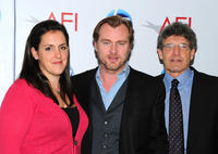 Emma Thomas, Christopher Nolan and Alan Horn at the Eleventh Annual AFI Awards.