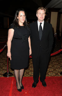 Emma Thomas and Christopher Nolan at the 62nd Annual Directors Guild Of America Awards.