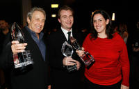 Charles Roven, Christopher Nolan and Emma Thomas at the 35th Annual People's Choice Awards.