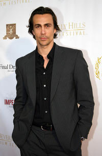 Daniel Bernhardt at the opening night of the 7th Beverly Hills Film Festival in California.