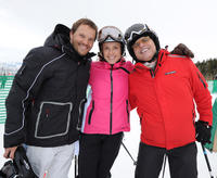 Dylan Bruno, Emily Bruno and Joe Pantaliano at the Day 2 of 19th Annual Deer Valley Celebrity Skifest.
