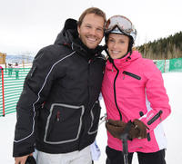 Dylan Bruno and Emily Bruno at the Day 2 of 19th Annual Deer Valley Celebrity Skifest.