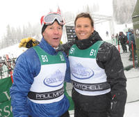 Skier Tommy Moe and Dylan Bruno at the Day 3 of 18th Annual Deer Valley Celebrity Skifest.