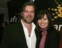 Erik Thomson and Caitlin McDougall at the screening of
