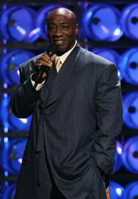 Michael Clarke Duncan at the 2004 World Music Awards.