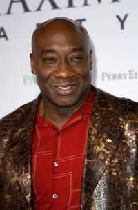 Michael Clarke Duncan at the MAXIM Magazine kicks off Super Bowl weekend at Grand Opening of Stone Rose.