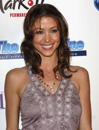 Shannon Elizabeth at the American Idol Semi-Finalists Party.