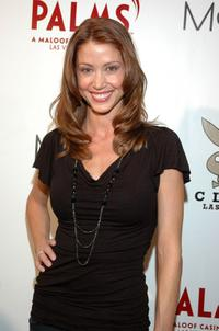 Shannon Elizabeth at the Playboy Club in Las Vegas.