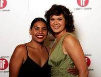 Deborah Mailman and Leah Purcell at the 2005 Lexus Inside Film Awards.