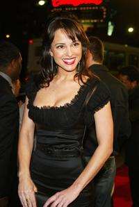 Jacqueline Obradors at the premiere of