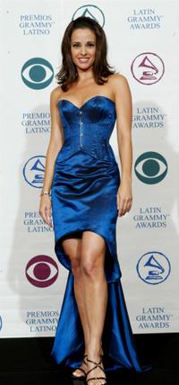 Jacqueline Obradors at the 3rd Annual Latin Grammy Awards.