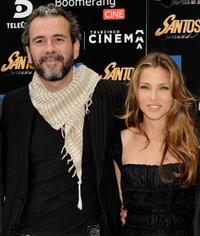 Guillermo Toledo and Elsa Pataky at the photocall of