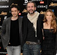 Leonardo Sbaraglia, Guillermo Toledo and Elsa Pataky at the photocall of