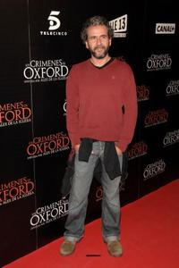 Guillermo Toledo at the Madrid premiere of