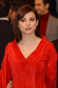 Leonor Watling at the 16th Goya Cinema Awards.