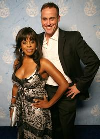 Niecy Nash and Guest at the Comedy Central's 2007 Emmy Party.