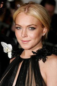 Lindsay Lohan at the Metropolitan Museum of Art Costume Institute Benefit Gala