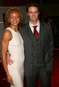 Garret Dillahunt and his wife at the premiere of