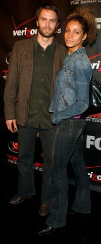 Garret Dillahunt and Michelle Hurd at the premiere of