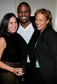 Nikki Silver, Wayne Brady and Tonya Lewis Lee at the world premiere of