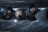 Manu Bennett, Melissa George and Josh Hartnett in