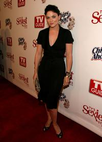 Jodi Lyn O'Keefe at the TV Guides Sexiest Stars Party.