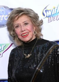 June Foray at the red carpet premiere in honor of the DVD launch of