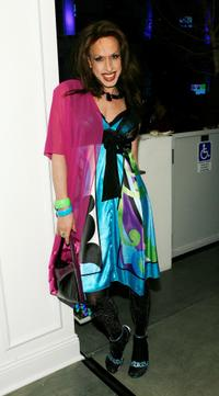 Alexis Arquette at the launch party for MTV Network's LOGO Channel.
