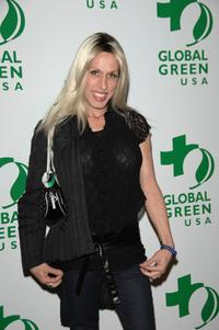 Alexis Arquette at the Global Green USA's 5th annual awards season celebration.