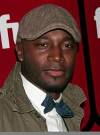 Taye Diggs at the Fuse TV's Grammy party.