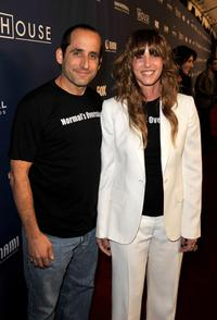 Peter Jacobson and Producer Katie Jacobs at the Fox's