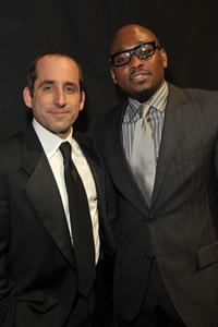 Peter Jacobson and Omar Epps at the 35th Annual People's Choice Awards.
