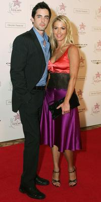 Guest and Poppy Montgomery at the Lili Claire Foundation's 7th Annual Benefit Gala.