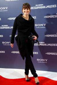 Arly Jover at the Madrid premiere of